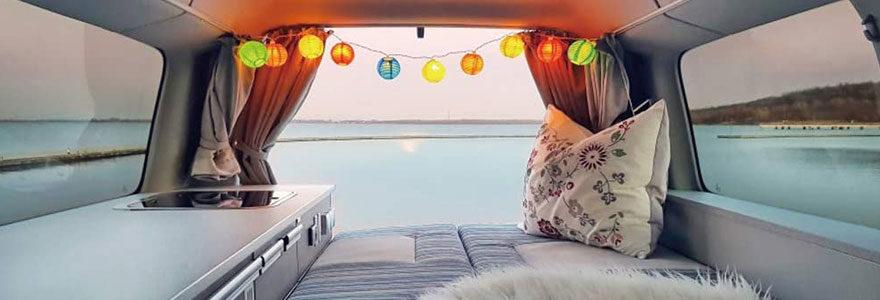 Mobile home sur mer